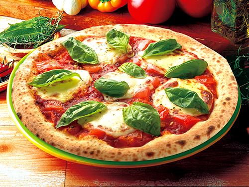 フレッシュトマトのマルゲリータ(ナポリピッツァ)